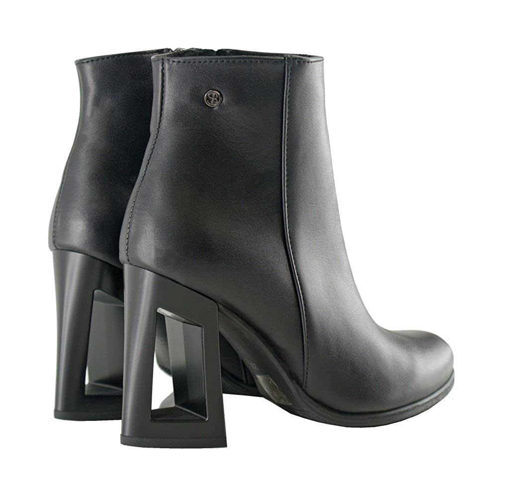 BOSCCOLO 4662 4662 4662 Stiefeletten, Stiefel with Hollow Heel, Stiefelies, Stiefel, Leder, Leather, Cuir 9aceb4