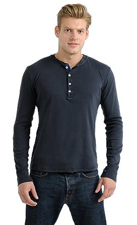 Herren Shirt1/1 Jacke Karl-Heinz Schiesser Revival dunkelblau 130-549-803