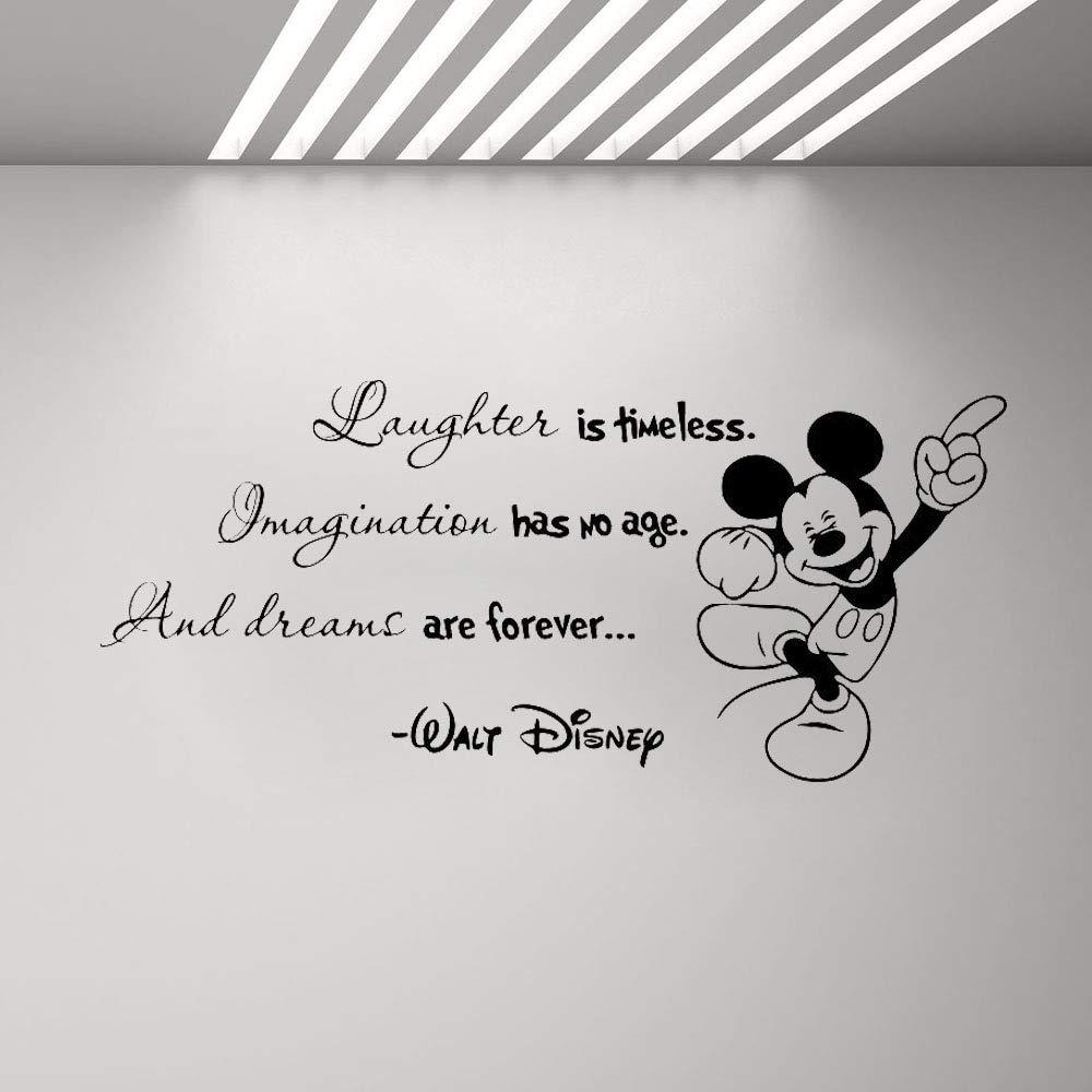 Mickey Minnie Mouse Arte de la pared Sticker Decal Fomentar ...