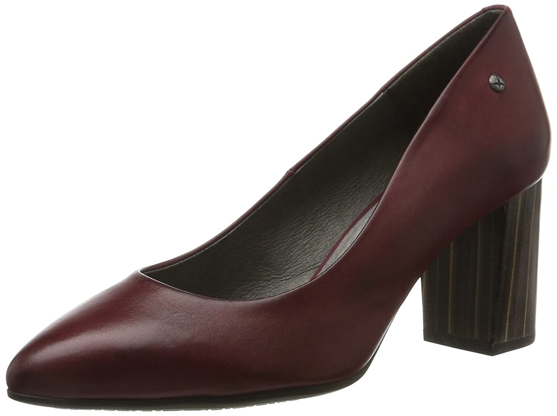 Pikolinos Salamanca W3q_i17, Zapatos de Tacón para Mujer 42 EU|Rojo (Garnet)