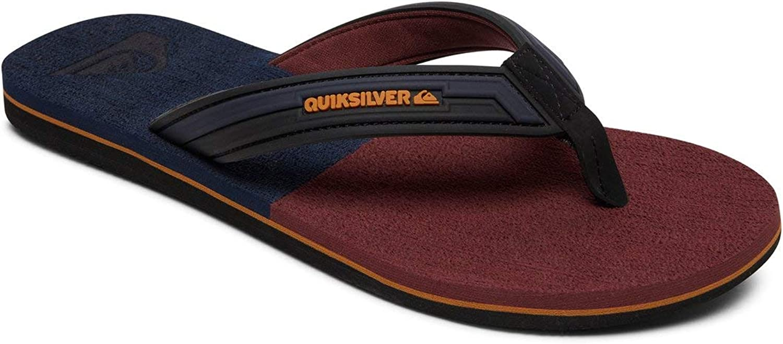 Quiksilver Molokai Eclipsed Deluxe, Zapatos de Playa y Piscina para Hombre