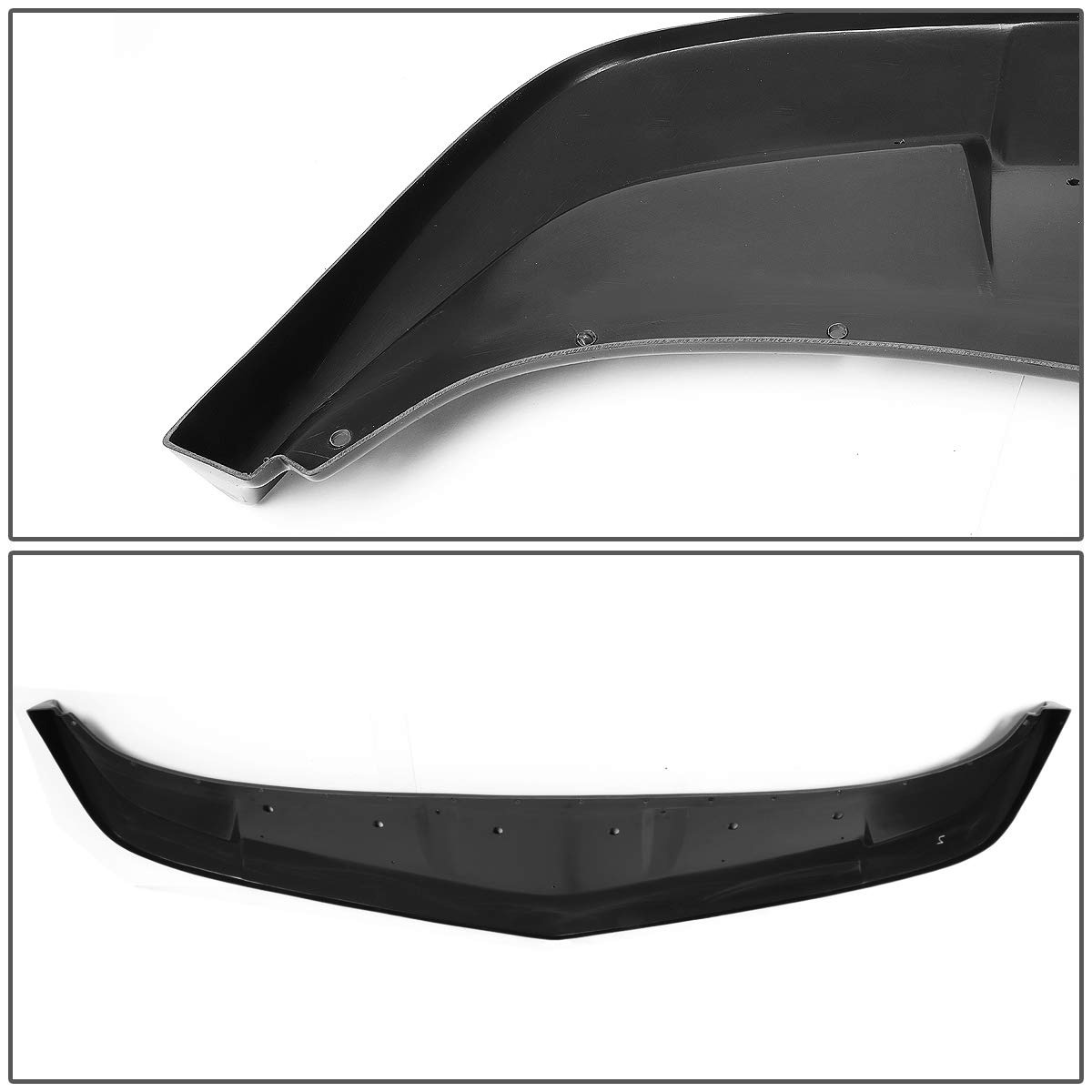 DNA Motoring BPLIP-0003 Front Bumper Lip Splitter Chin Spoiler Body Kit