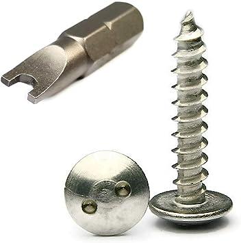 #12 x 3//4 Qty-100 Phillips Truss Head Sheet Metal Screws 18-8 Stainless Steel