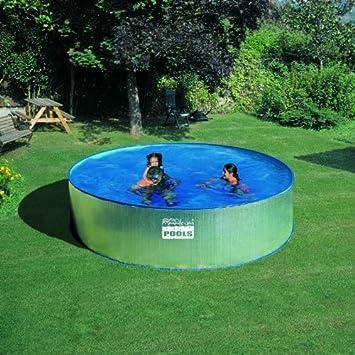 Gre Piscina san marina pool pared acero galvanizado 4,50 x 0,90 m KITWPR450: Amazon.es: Juguetes y juegos