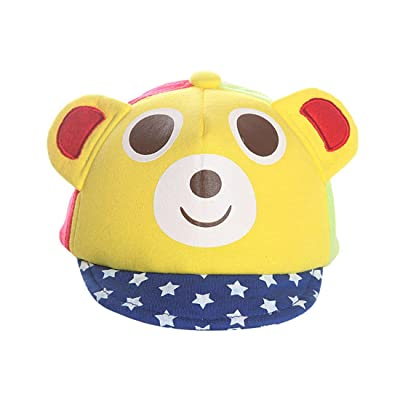 9a29a04f9ac14 ABG Infant Boys Navy Blue Dinosaur Floppy Sun Hat Bucket Cap.  Now  15.99 13.99. ACVIP Baby s Cute Little Cartoon Bear Pattern Soft  Baseball Hat