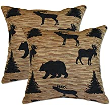Big Tree Furniture Denali Black Pillows
