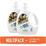 23.4° Life's perfect balance Laundry Detergent, 2 Units, Vanilla Citrus, 140 Fluid Ounce