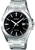 Casio Collection – Herren-Armbanduhr mit Analog-Display und Edelstahlarmband – MTP-1308PD
