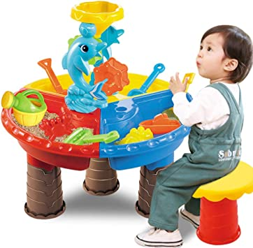 pinshun Set para niños Juguetes para niños Juguetes de Playa para niños Juegos de Arena Juegue