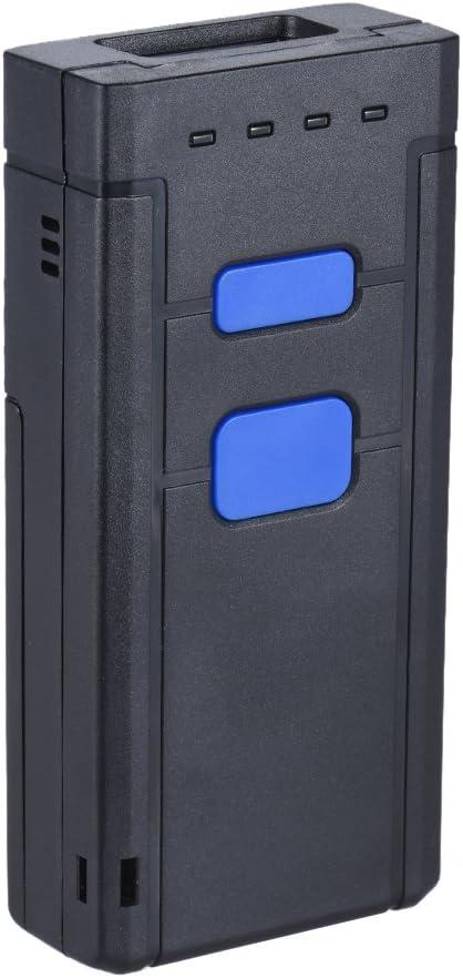 Aibecy portátil Bluetooth inalámbrico 1d Laser Barcode Scanner lector de escáner de mano Soporte para Windows XP 7.0 8.0 10 Sistema IOS Android para Supermercado Biblioteca Express Empresas Ware Casa