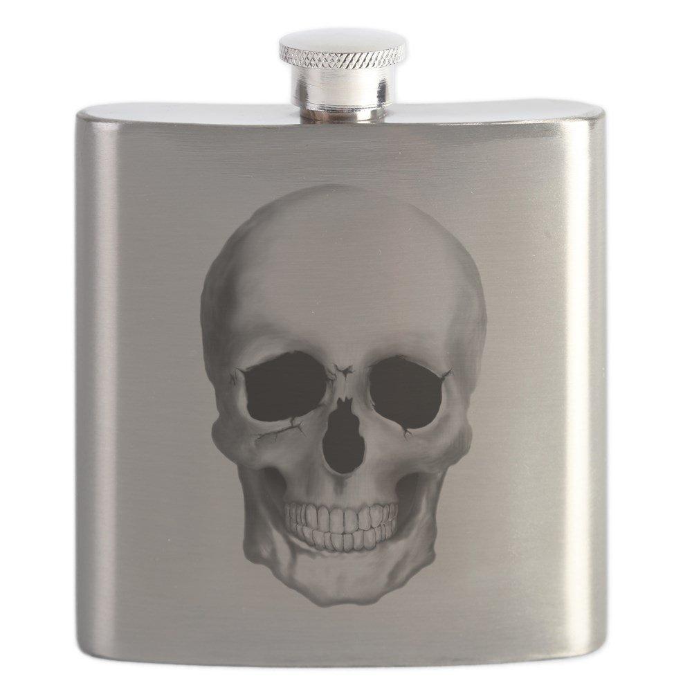 セール特価 CafePress – CafePress Human Skull – ステンレススチールフラスコ – Human、6オンスDrinkingフラスコ B0742GGF4J, ジュエリーセレクトショップ:09d43cb7 --- a0267596.xsph.ru