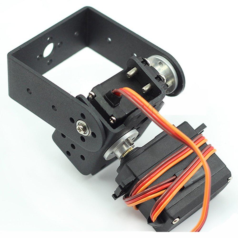 Mallofusa 2 DOF Pan and Tilt with Mg995 Servos Sensor Mount for Arduino Robot Set Car Plane DIY