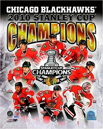 "Chicago Blackhawks 2010 Stanley Cup Composite Photo (16"" x 20"")"