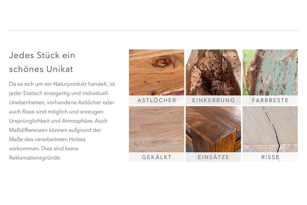 Massive Baumstamm Bank Genesis 160cm Akazie Massivholz Baumkante Sitzbank mit Kufengestell Industrial Finish