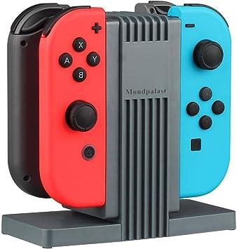 MPTECK @ Multi estación de carga Dispositivo de carga Switch base Soporte Stand para Nintendo Switch Joycon NINTENDO SWITCH Joy Con nintendo switch NS controlador: Amazon.es: Electrónica
