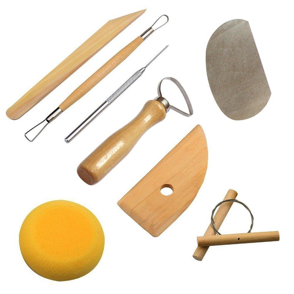 Cozyswan High Quality Pottery Tool Sculpting Tool (8Pcs)