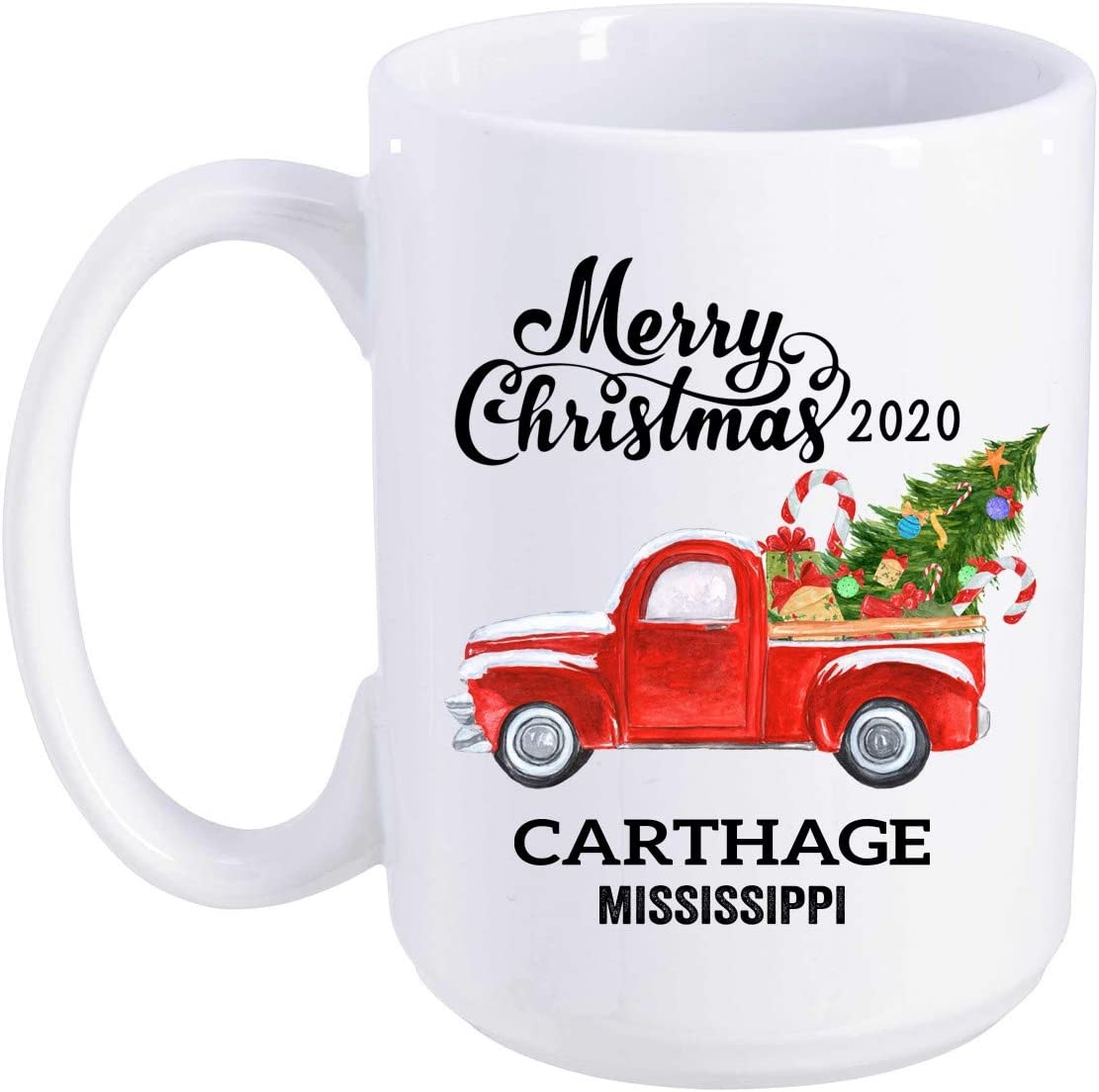 When Is The Carthage Christmas In 2020 Amazon.com: Carthage Mississippi State Family New Home Mug 2020