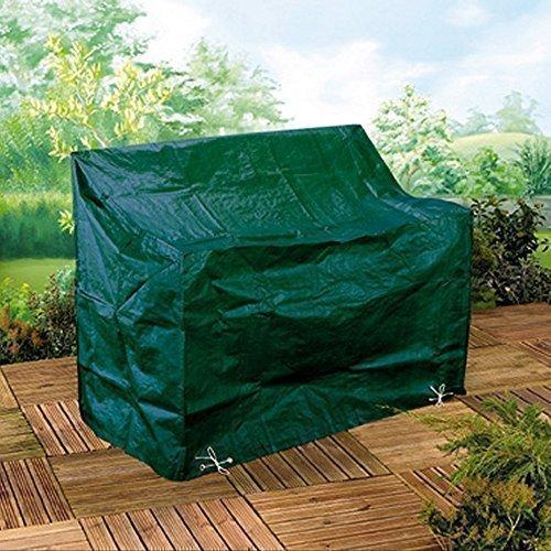 Tourwell Vertrieb 3er Gartenbank Abeckung Gartenmöbel Schutzhülle 3-Sitzer Bank Gartenbank 89x162x66cm Wetterfest