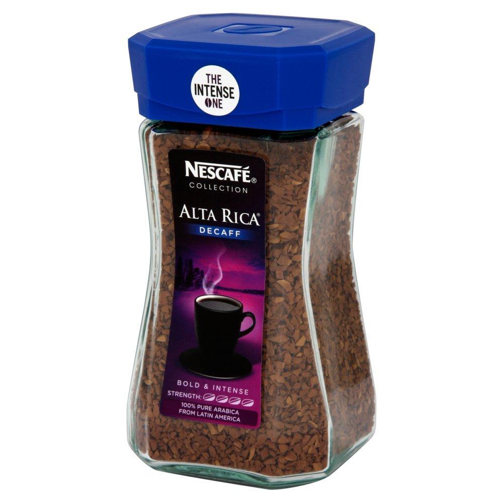 Nescafé Alta Rica Decaffeinated Coffee 100 G Pack Of 6