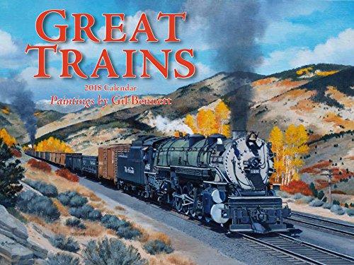 Great Trains 2018 Calendar