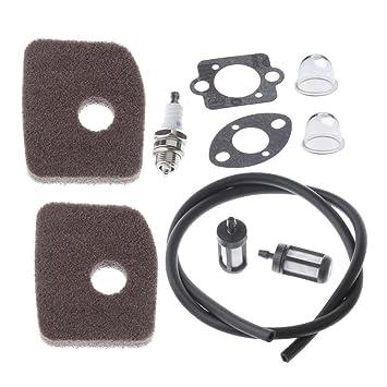 HIPA filtro de aire tubo Bujía Para Soplador Stihl BG56 BG66 ...