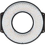 F&V R300 SE リングライト デイライト LED240球 TLCI97±2 CRI95±2 5600K無段階調整 2205ルクス レンズアダプターリング&レンズマウント内蔵 小型軽量 標準セット