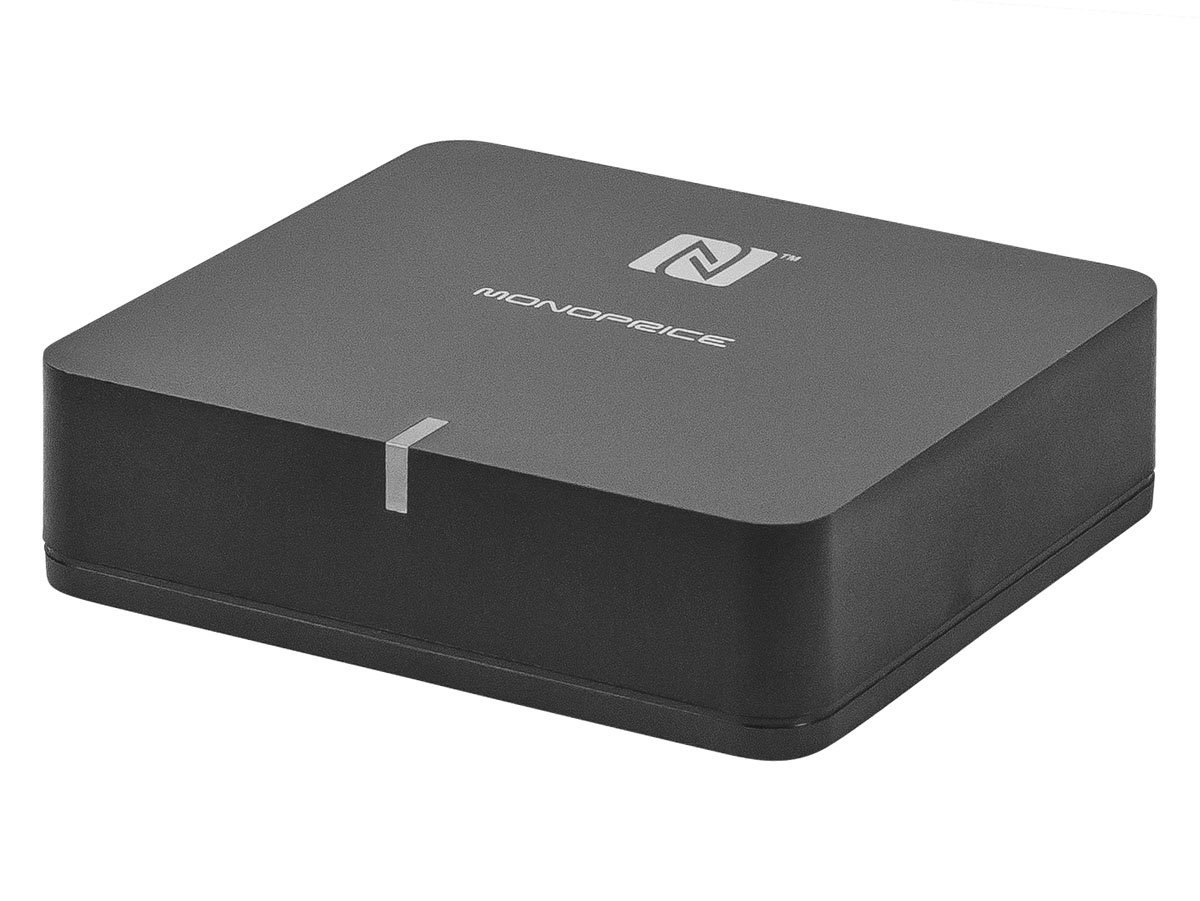 Monoprice Home Theater Music Receiver NFC and APTX Codec Support (110248) by Monoprice