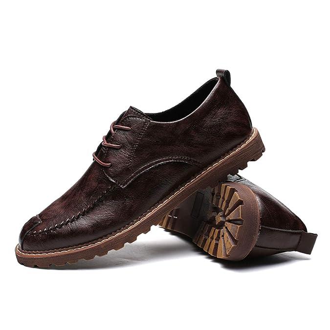 Amazon.com | Leisure Mens Flats Male Moccasins Men Oxford Shoes | Oxfords