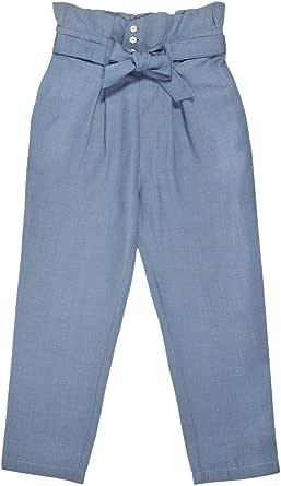 Bonnet a Pompon High Waist Trousers Pant For Girls