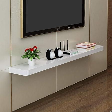 Estantes flotantes Muebles De TV Y Medios De Pared For TV Estante De La Sala Set-