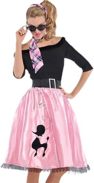 erdbeerclown – Disfraz años 50 Mujer, Sock Hop Sweetie, carnaval ...