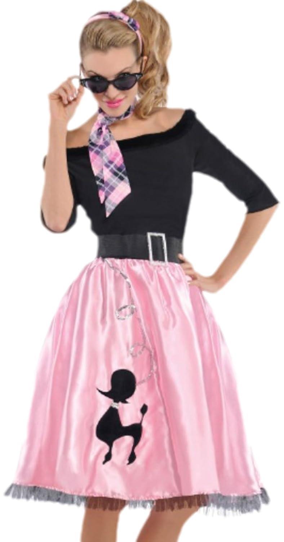 erdbeerclown - Disfraz años 50 Mujer, Sock Hop Sweetie ...