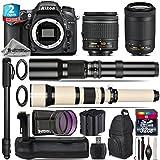 Holiday Saving Bundle for D7100 DSLR Camera + AF-P 70-300mm VR Lens + 650-1300mm Telephoto Lens + AF-P 18-55mm + 500mm Telephoto Lens + Battery Grip + 2yr Extended Warranty - International Version