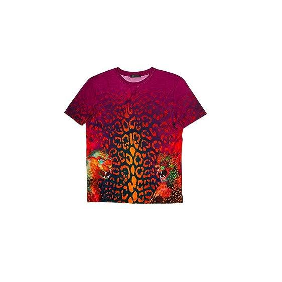 red versace t shirt
