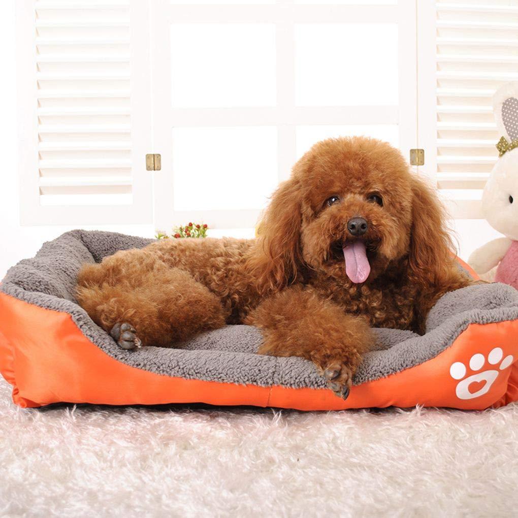 Ben-gi Kleine Katze Welpen Bett Cotton Soft Hundebetten Tiere Haus-Matten-Auflage Katze Kaninchen Sofa Cuddler Kennel Pad