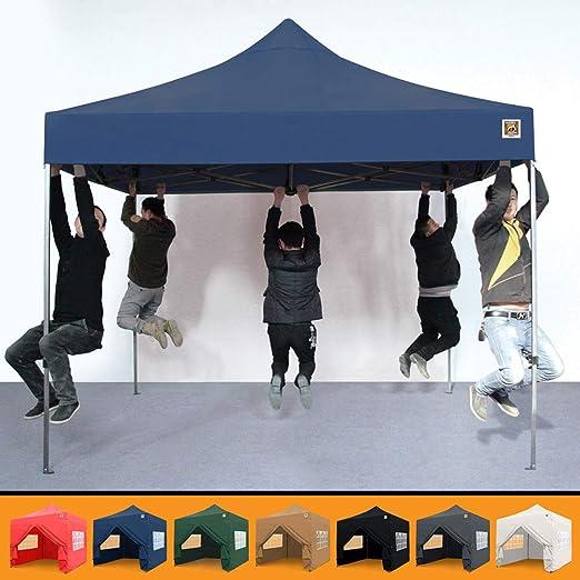Gorilla Gazebo® Pop Up 3 x 3 m, resistente, impermeable, de grado ...