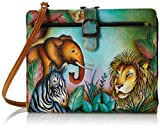 Anuschka 523 Notebook Bag,African Adventure,One Size