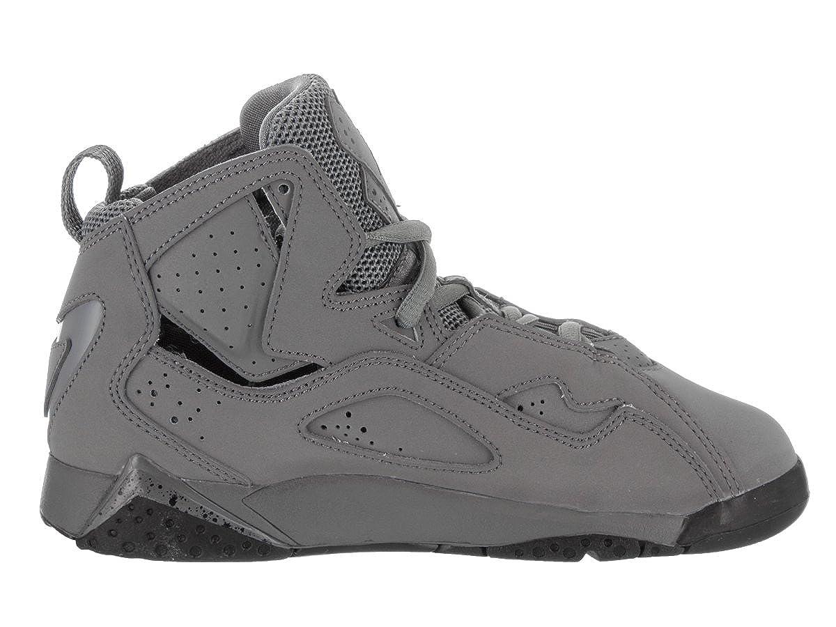 Jordan Nike Kids True True True Flight BP Cool grau schwarz Basketball schuhe 12 Kids US e441b1