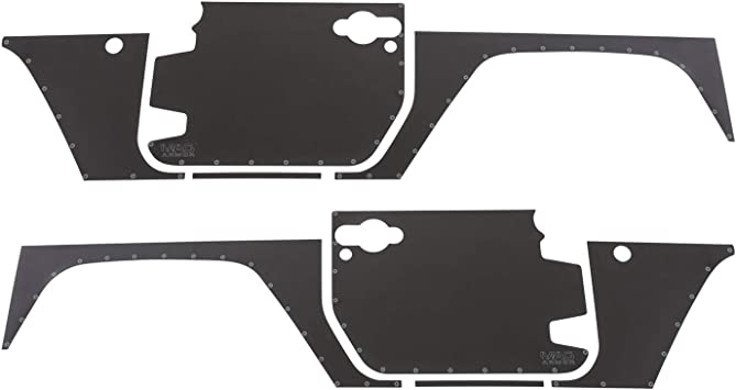 Smittybilt 76992 9pc MAG Armor Magnetic Side Protection for Jeep Wrangler 2-Door