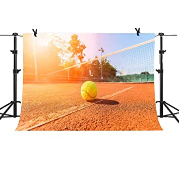 Amazon Com Mme Backdrop 10x7ft Tennis Court Background For Youtube