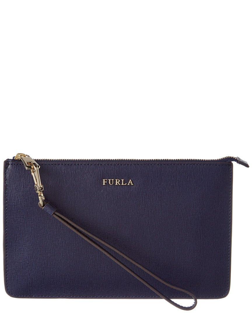 Furla Womens Babylon Xlarge Leather Cosmetic Case
