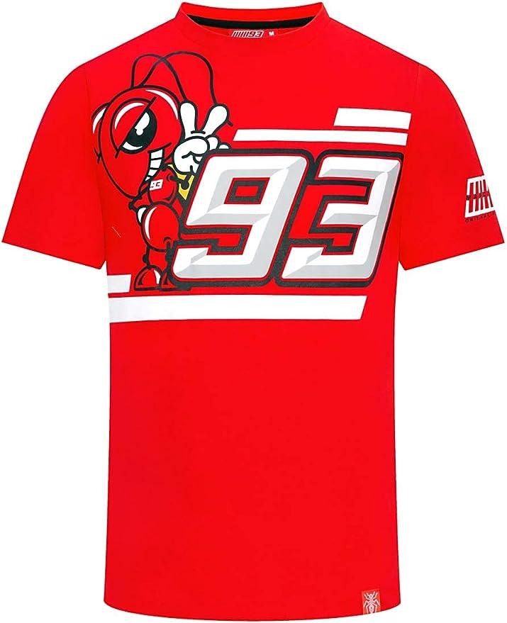 Marc Marquez 2019 93 MotoGP Camiseta Infantil para ni/ños de 2 a 11 a/ños