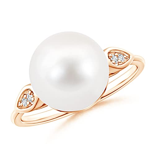 Angara Classic Freshwater Cultured Pearl Solitaire Ring ltvqnkGIW