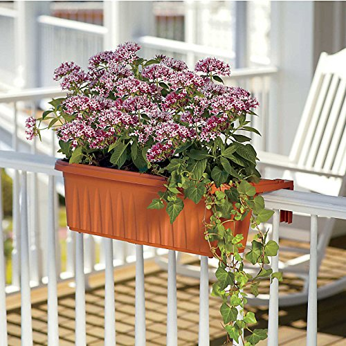 24'' Adjustable Railing Planter Box-Set of 2 - Improvements