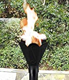 Gaslight America West-1 GL052 Tulip Cast Aluminum Gas Powered Torch Head