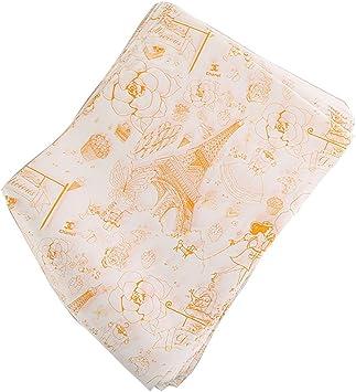 des sandwichs du pain etc. 100 feuilles de papier demballage antiadh/ésif pour emballer des hamburgers VINLINGDAI papiers demballage alimentaire des frites
