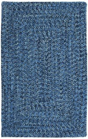 Catalina Polypropylene Braided Rug, 5 x 8 , Blue Wave