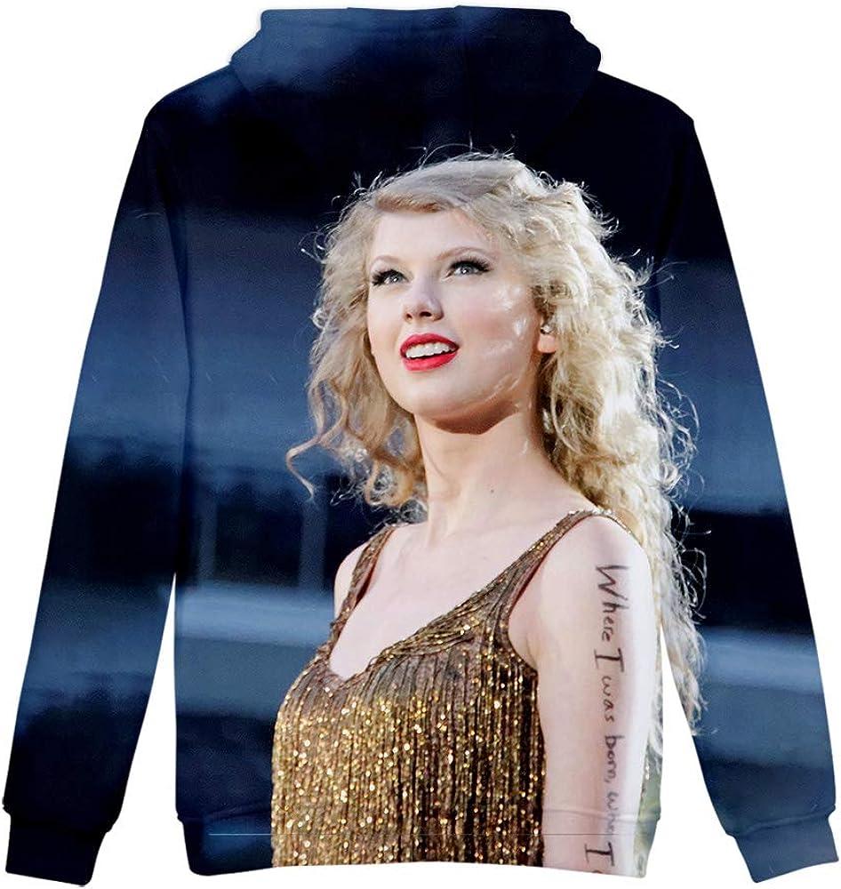 WAWNI 2020 Popular Singer Taylor Swift 3D Pullover Couple Sweater Hoodies Mens Streetwear Womens Casual Wear Harajuku Sweatshirt