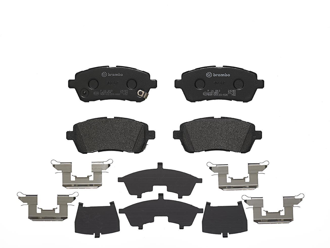 Mazda 2 Front Brake Pads Set 2007-2015 *OE QUALITY*