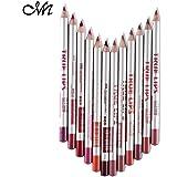 Me Now True Lips Lip Liner Pencil - Set Of 12